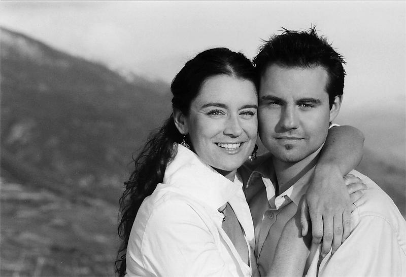 Lionel Clavien et Anne-Véronique